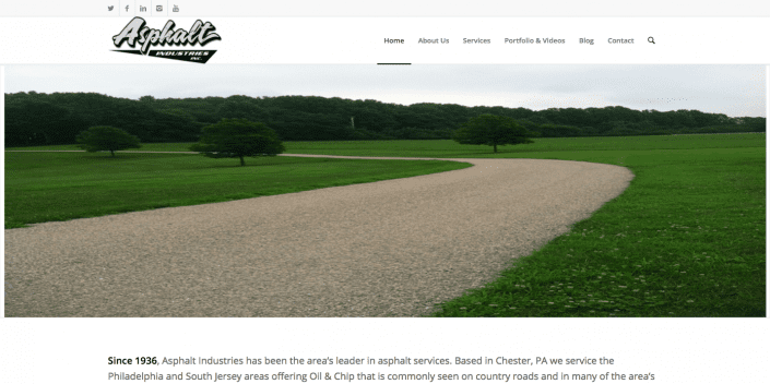 asphalt industries web site