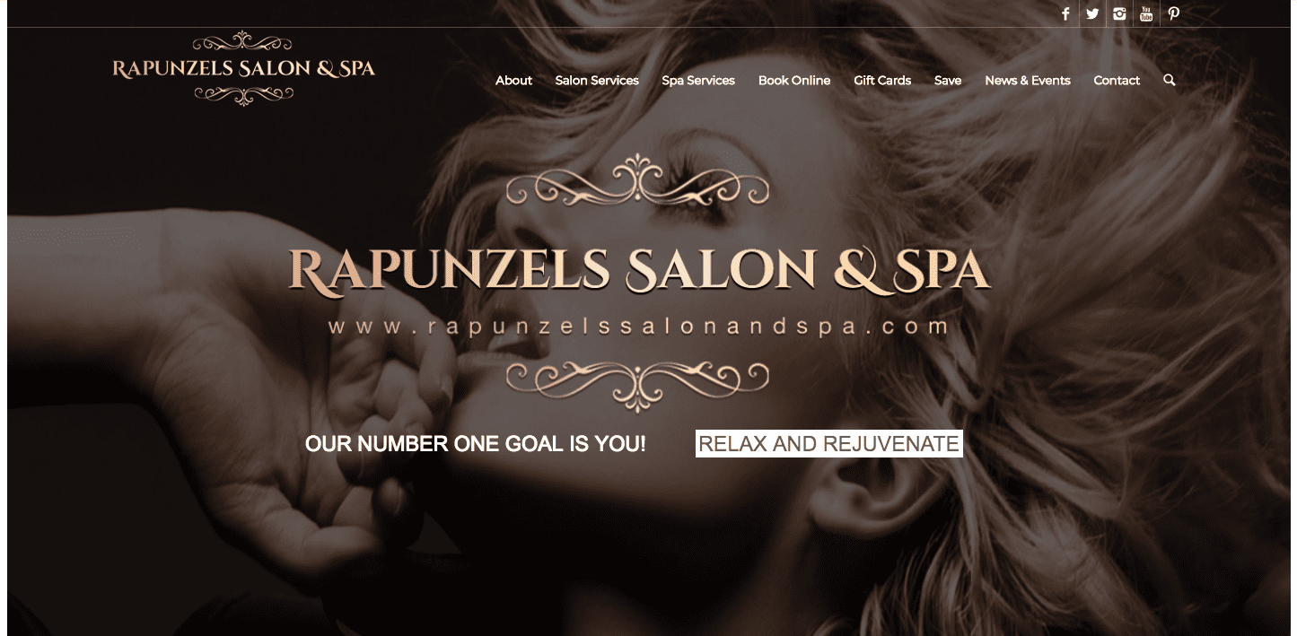 rapunzels salon and spa